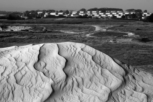 Fort Ord Dunes Workshop example of macro image of dune ripples