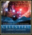 Celestial Cabernet Sauvignon wine label.