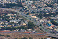 West City of Marina and its neighborhoods as seen from the air.