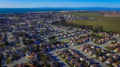 Armstrong Ranch, City of Marina, and Monterey Bay from a drone.